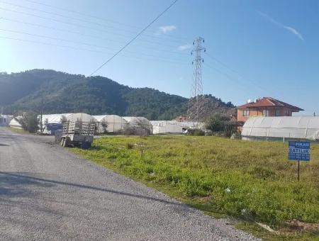 Eck-Grundstück Zum Verkauf In Ortaca