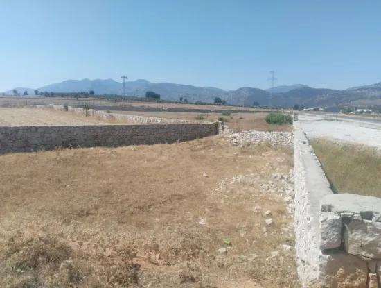 Land For Sale In Seydikemer Blowing Zero On The Main Road