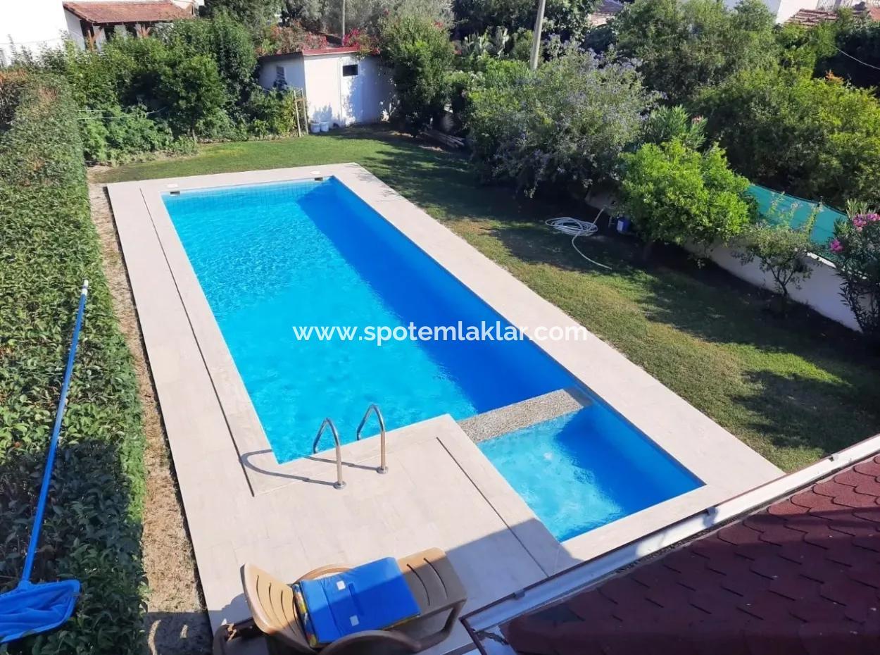 Dalyan Da Satılık Yüzme Havuzlu Lüks Villa